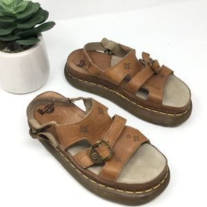 Dr. Marten leather sandals
